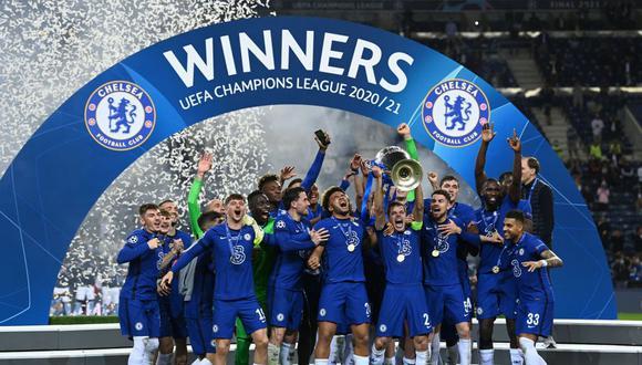 Chelsea es el vigente campeón de la Champions League. (AFP)