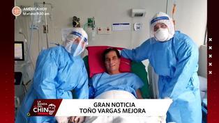Periodista deportivo Toño Vargas se recupera de la COVID-19