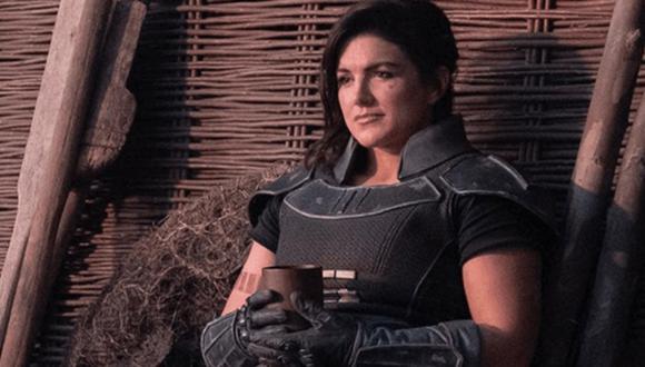 Gina Carano rompe su silencio tras su despido de Star Wars The Mandalorian. (Foto: Disney+)