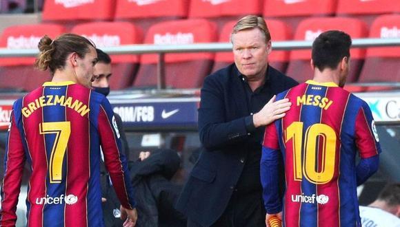 Ronald Koeman y su reacción tras goleada de Barcelona (Foto: Reuters)
