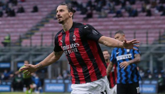 Milan se impuso al Inter de Milán en el 'Derby' en San Siro por Serie A