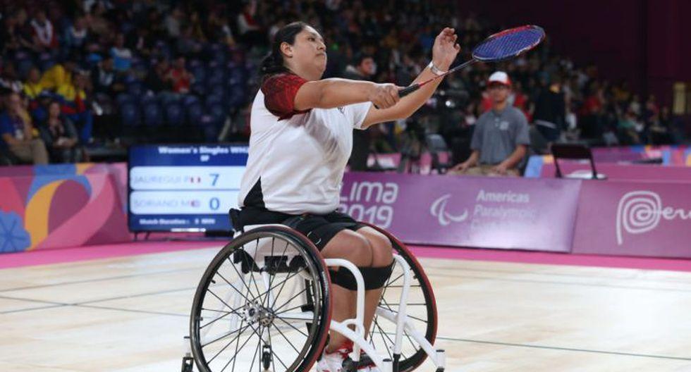 Para bádminton: Pilar Jáuregui y Pedro Pablo de Vinatea clasificaron a sus respectivas finales en los Parapanamericanos. (Fotos: Violeta Ayasta/GEC)