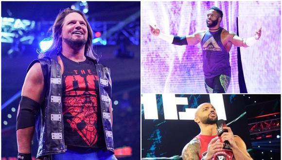 Los tres luchadores son miembros del elenco de Raw. (Foto: WWE)
