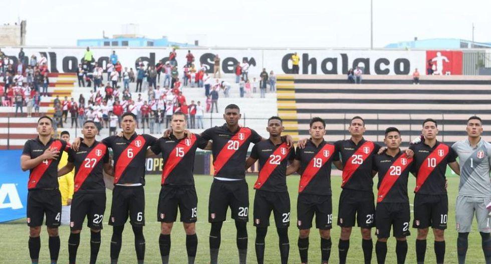 Selección Sub 23 cambiaría de localía. (Foto: GEC)