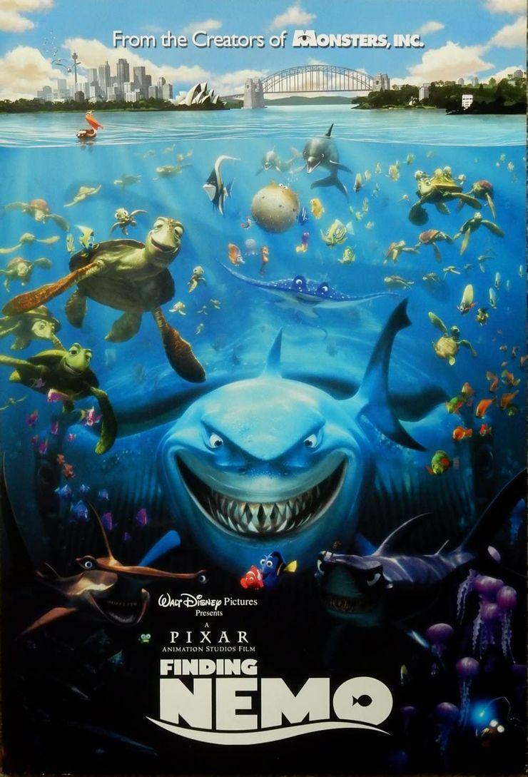 """""""Buscando A Nemo"""" (Foto: Pixar)"""