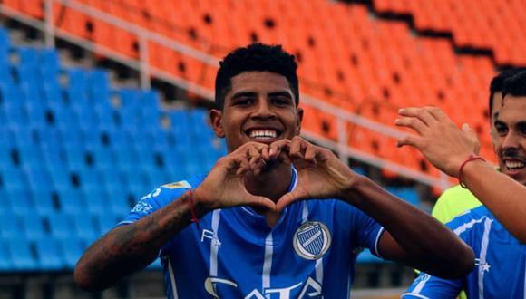 Wilder Cartagena y su deseo de llegar a Boca Juniors. (Foto: Facebook / Club Godoy Cruz)