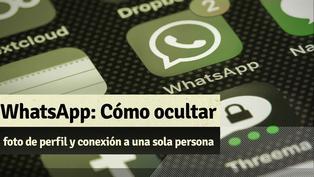 Whatsapp: Te mostramos cómo oculta tu foto de perfil y conexión a una sola persona