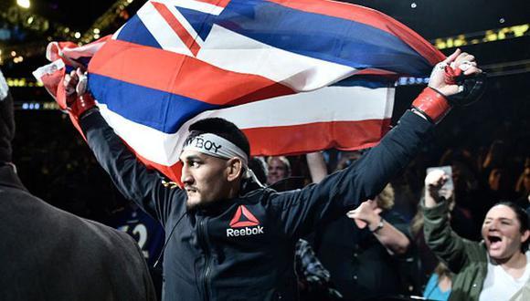 Excampeón de UFC encabeza campaña de donación para el banco de alimentos de Hawái. (Getty Images)