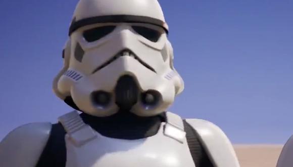 ¿Quieres tener la skin del soldado imperial de Star Wars en Fortnite? Entonces estos son los pasos que debes realizar. (Foto: Epic Games)