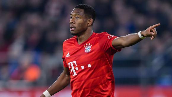 David Alaba también ha jugado en el Hoffenheim. Getty Images)