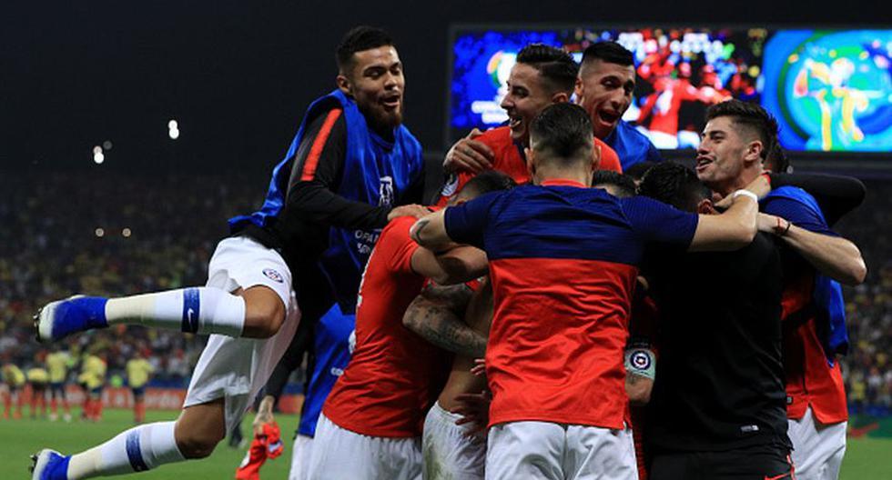 Chile, a semifinales de Copa América tras imponerse en penales a Colombia (Getty)