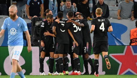 Juventus derrotó por 3-0 a Malmö en Suecia por jornada 1 de Champions League. (Foto: AFP)