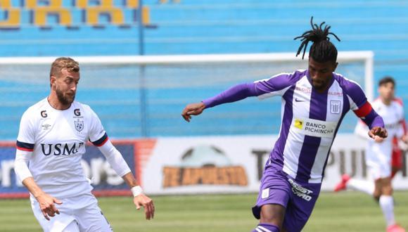 Alianza Lima y San Martín se midieron en el estadio Alberto Gallardo por la Liga 1. (Foto: Liga 1)