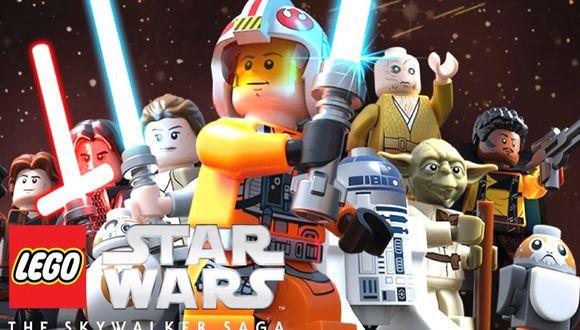 """""""LEGO Star Wars La Saga Skywalker"""" presenta un nuevo tráiler."""