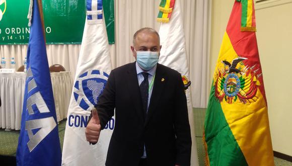 Fernando Costa es presidente de la Federación Bolivia de Fútbol desde noviembre del 2020. (Foto: Agencias)