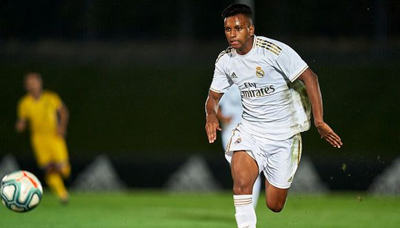 Rodrygo llegó procedente del Santos esta temporada. (Getty)