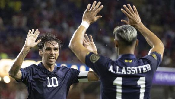 Costa Rica venció 1-0 a Jamaica en la última fecha de la Fase de Grupo de la Copa Oro 2021. (Foto: Twitter)