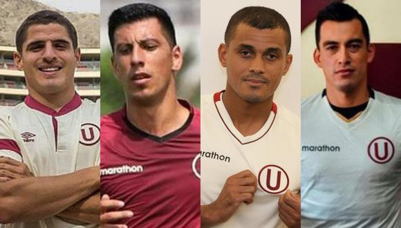 Santillán, Corzo, Alonso y Quina continuarán en Universitario la temporada 2021. (Foto: GEC)
