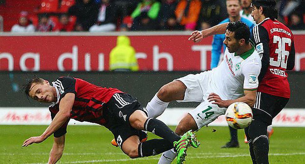 Claudio Pizarro está dentro del top 5 de goleadores históricos de la Bundesliga. (Getty)