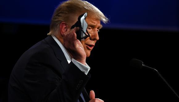 Donald Trump dio positivo a test de coronavirus. (Foto: AFP)