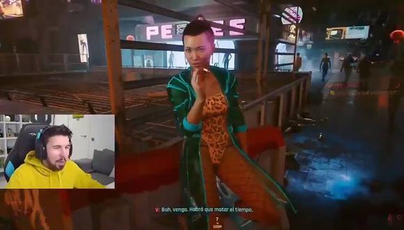 Willyrex comparte gameplay de Cyberpunk 2077 y le cierran su canal de YouTube. (Foto: captura)