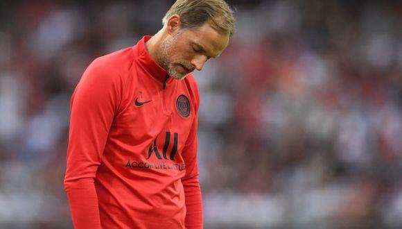 Thomas Tuchel podría dejar de ser el entrenador del PSG si es eliminado en octavos de final de la Champions League. (Foto: Agencias)