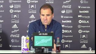 """Jagoba Arrasate, técnico de Osasuna: """"Obviamente el Real Madrid está luchando por el título, así que será un partido muy duro"""""""