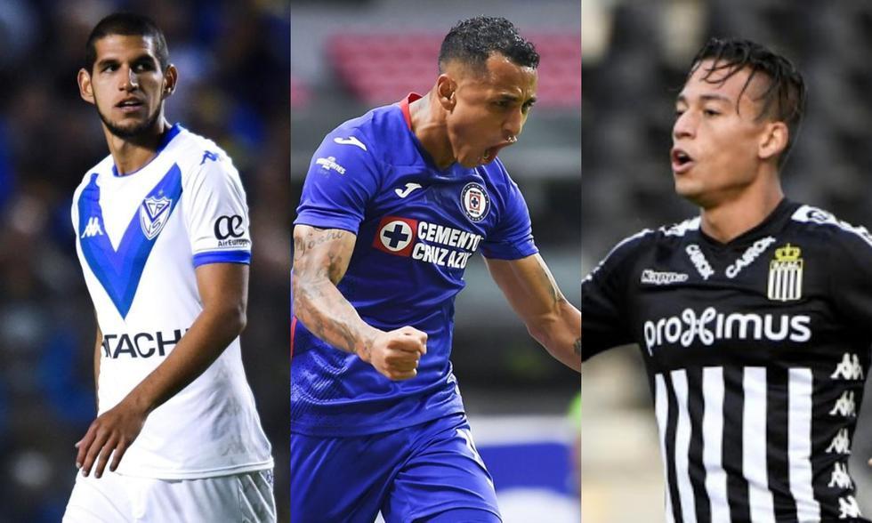 Luis Abram, Yoshimar Yotún y Cristian Benavente serán los primeros en culminar su contrato este 2021. (Fotos: Agencias)