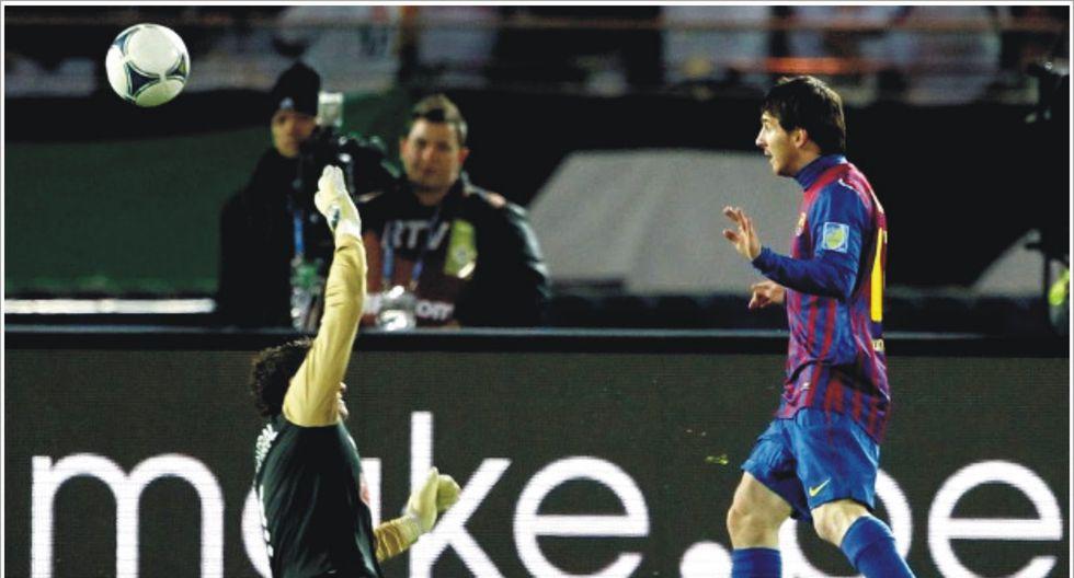 Goles ante Santos en Mundial de Clubes 2011. (Fotos: Agencias)