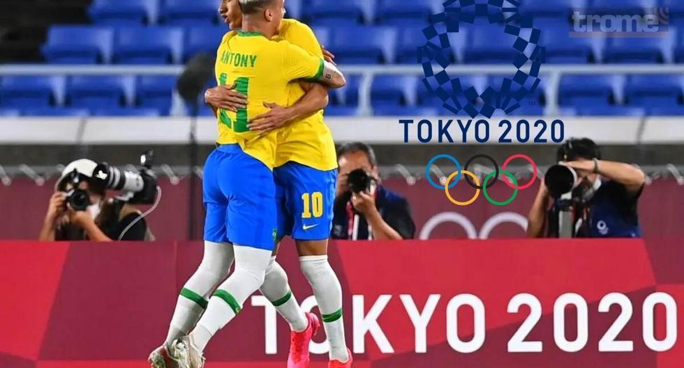 Brasil - Alemania: ver goles, resumen, mejores jugadas y estadísticas del partido por la fecha 1 del grupo D de los Juegos Olímpicos Tokio 2020 | FUTBOL-INTERNACIONAL | DEPOR