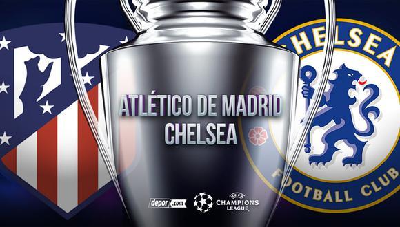 Atlético de Madrid vs.  El Chelsea se enfrenta a los octavos de final de la Champions League (Depor)