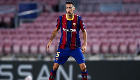 Sergio Busquets fue separado de la concentración de la Selección Española tras dar positivo en coronavirus. (Foto: Barcelona)