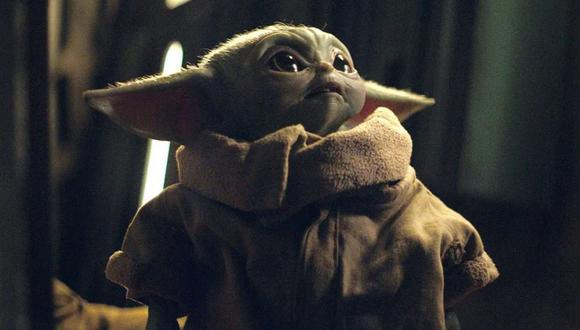 """Baby Yoda, personaje de """"The Mandalorian"""", una de las series exclusivas de Disney+. Foto: Lucasfilm."""
