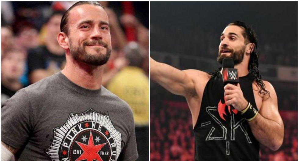 CM Punk y Seth Rollins se encuentran enfrentados en un cruce de palabras. (Foto: WWE)