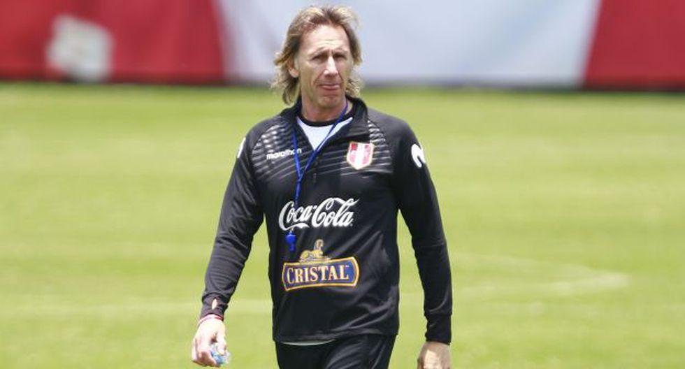 Ricardo Gareca es entrenador de la selección peruana desde marzo del 2015. ( Foto: Violeta Ayasta / GEC)