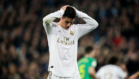 James Rodríguez regresó el Real Madrid procedente del Bayern Munich. (Foto: Getty Images)