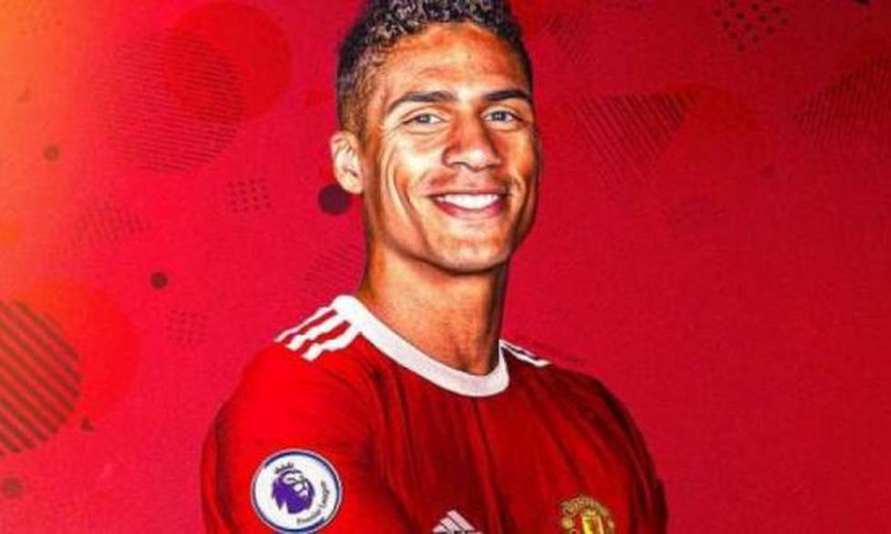 4. Raphael Varane to Manchester United (2021/2022) for 50 million euros.  (Photo: Manchester United)