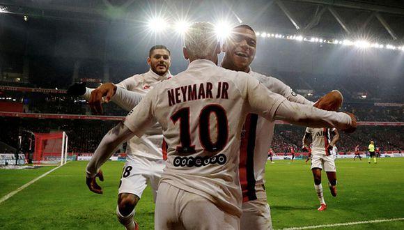 Neymar y Mbappé juegan en el PSG desde el verano de 2017. (Getty)