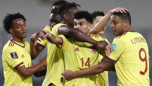 Colombia vs. Ecuador se ven las caras en el Metropolitano de Barranquilla por las Eliminatorias Qatar 2022. (Foto: Getty images)
