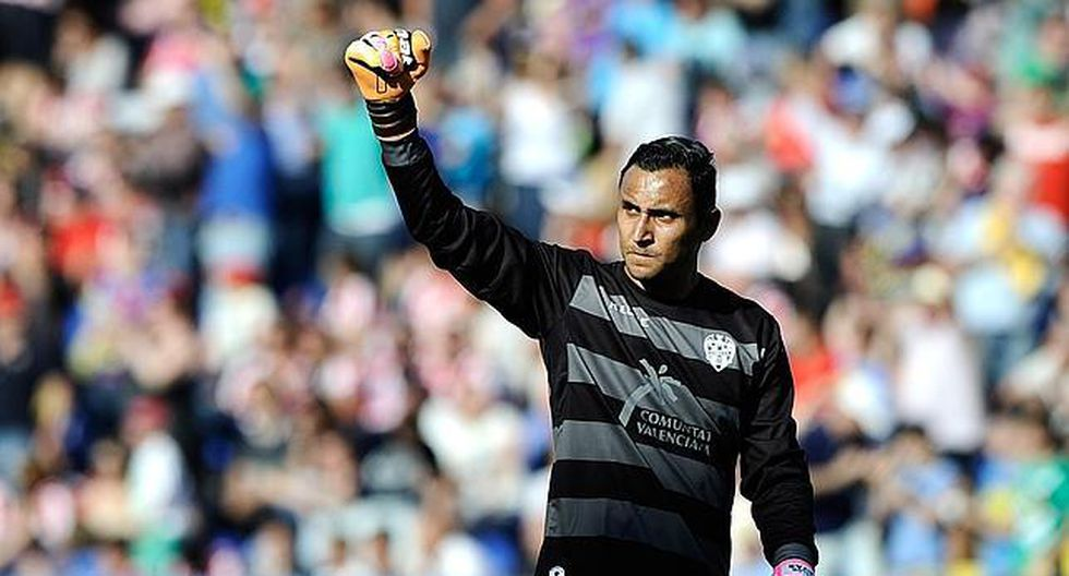 Keylor Navas en el Levante. (Foto: Getty)