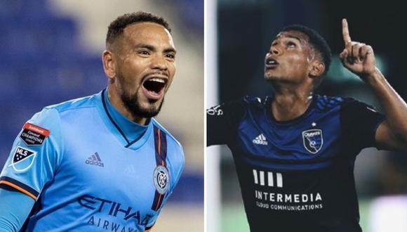 Alexander Callens y Marcos López, los defensas peruanos que la rompen en la MLS. (Foto: Agencias / Collage)