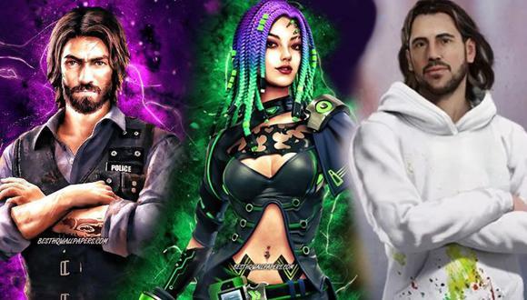Comparamos las habilidades de estos tres personajes de Free Fire