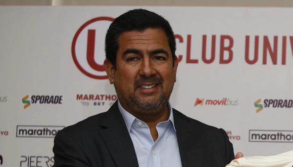Carlos Moreno fue suspendido por la FPF.