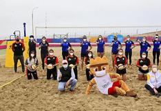Vóley playa reanuda entrenamientos en el Complejo Panamericano Costa Verde - San Miguel