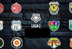 Tabla de posiciones Liga 2: así quedó tras jugarse la fecha 10 de la Segunda División