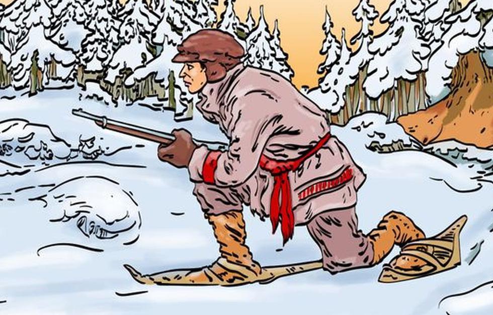 ¿Puedes encontrar al animal escondido que acecha al cazador ? (Foto: Facebook/Captura)