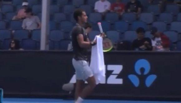 Juan Pablo Varillas es el actual 141 del ranking ATP. (Foto y video: Australian Open 2020)
