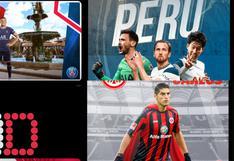 El mundo se pinta de rojo y blanco: los saludos de los clubes europeos por el Bicentenario de Perú