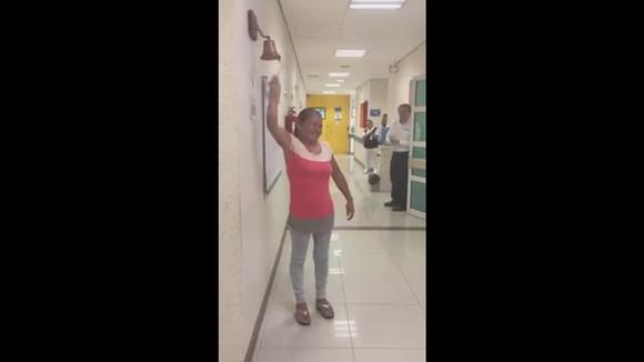 Facebook viral: El video de una mujer anunciando que venció al cáncer emociona en las redes