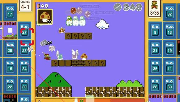 """Los trucos de """"Super Mario 35"""" para que ser el mejor en Nintendo Switch"""
